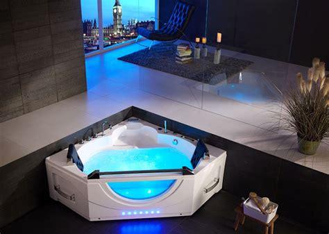 baignoire balneo d angle pour deux personnes ushuaya 43 jets