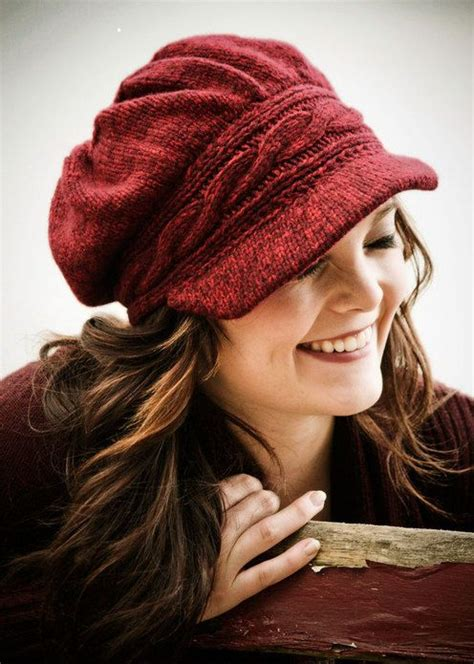 pepperberry knits pepperberry knits heidi hennessy newsboy hat