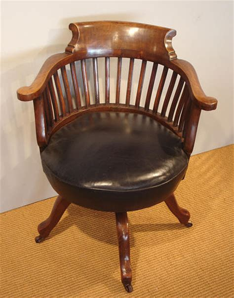 Antique Mahogany Swivel Desk Chair Antique Chair Antique Desk Chairs Swivel