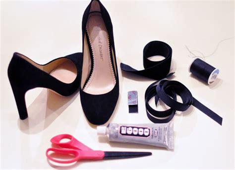 diy heel straps diy shoes