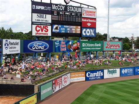 mccoy stadium seating chart mccoy stadium 187 official bpg review photos pawtucket