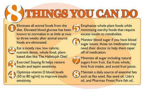 Infographic 8 ways to beat diabetes