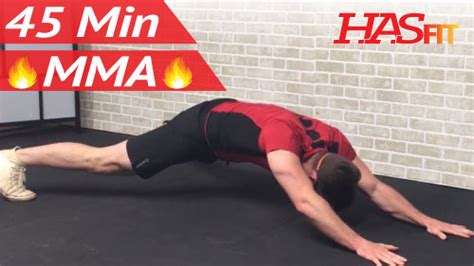 45 min mma workout routine hiit conditioning abs