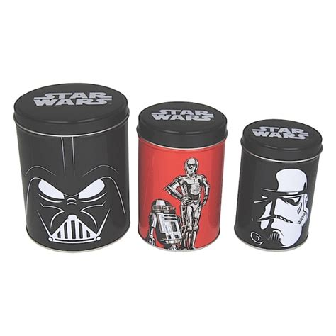 Coffee Kitchen Canisters by Star Wars Set Of Canisters Tea Coffee Sugar Kitchen