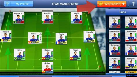 league soccer hack apk league soccer 2017 mod apk hacked unlimited money data