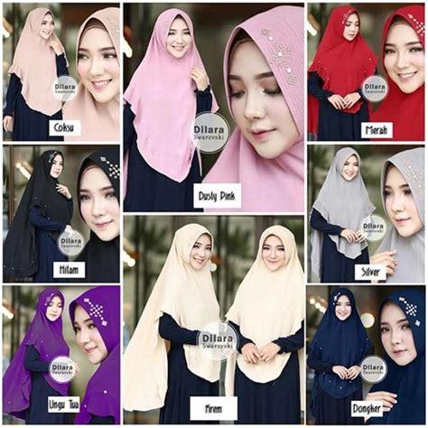 Jilbab Instan Perempuan Khimar Kerudung Wanita Muslimah grosir jilbab murah di pamekasan jilbab instan