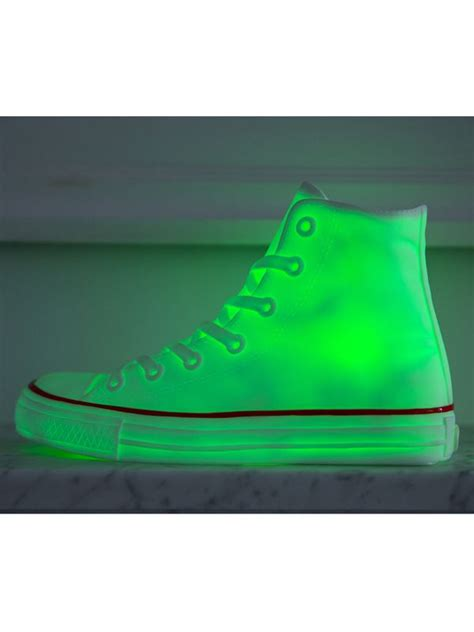 color changing sneakers sneaker light led colour changing new shoe converse ebay