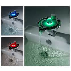 bathroom sink colors new design color changing led waterfall bathroom sink