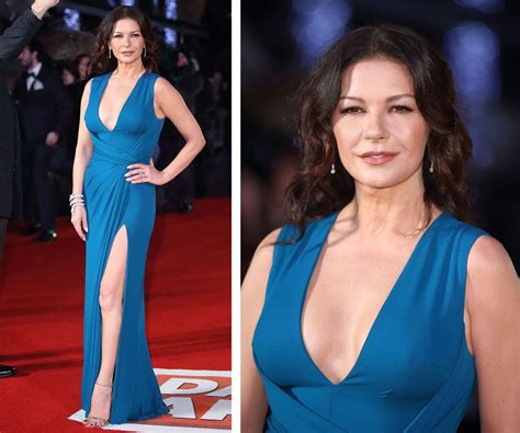catherine zeta jones near flash at s army premiere