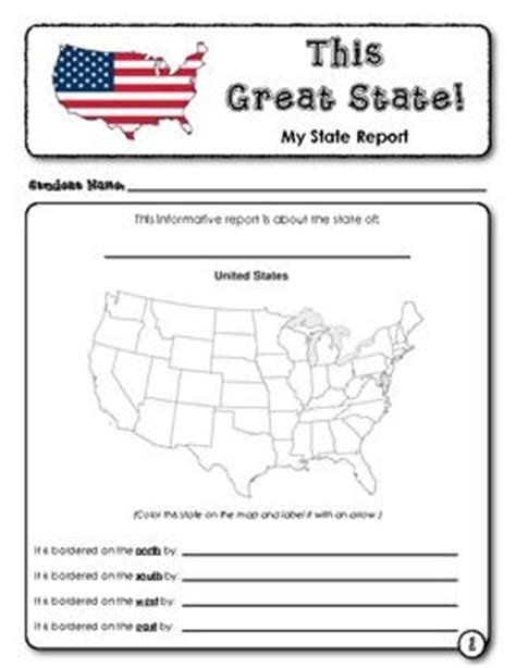 student report this great state us states student and