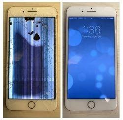 iphone screen repair in milwaukee & waukesha   x 8/plus 7