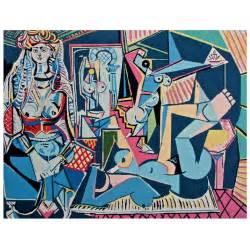 Home Decorations Collections After Pablo Picasso Quot Les Femmes D Alger Version Quot O