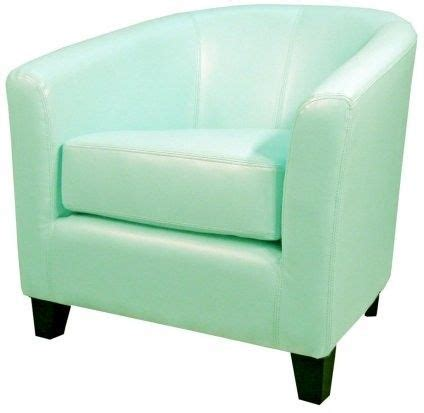 Mint Chair by Robertson Bonded Leather Chair Mint Home