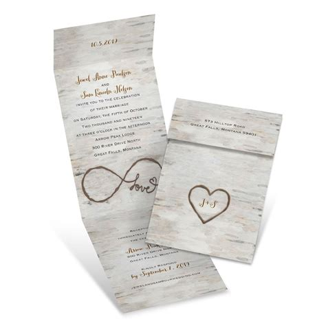 shops that sell wedding invitations birch invitation with reply s bridal