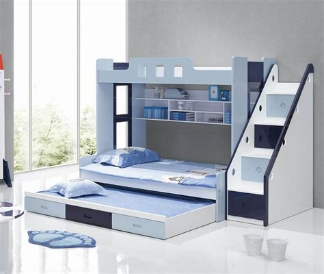 Bunk Bed Bedrooms Choosing The Right Bunk Beds With Stairs For Your Children
