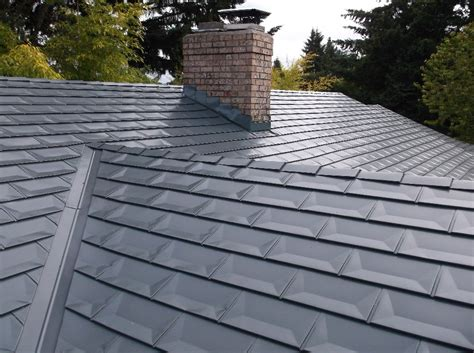 Aluminum Metal Roof - residence zappone aluminum shingles cc l roofing