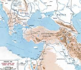Map Of Ottoman Empire 1914 Map Of The Ottoman Empire 1914