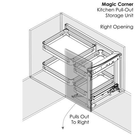 magic corner kitchen cabinet elite chef magic corner cupboard