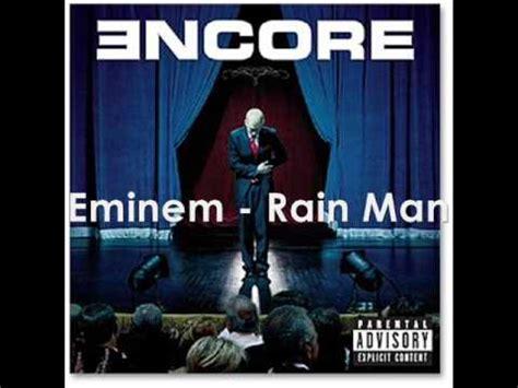eminem just lose it mp3 eminem rain man not live official music youtube