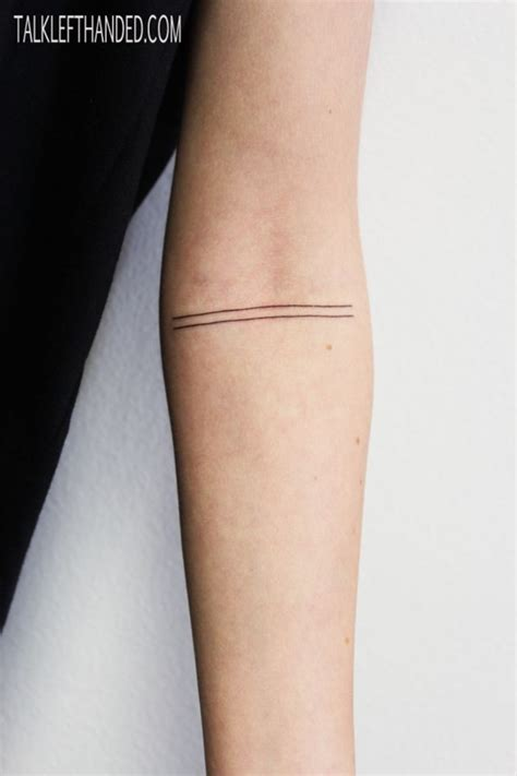 tattoo meaning two lines 40 original line tattoo designs