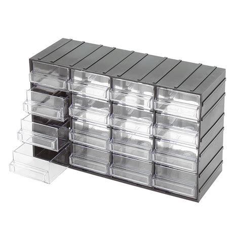 cassettiere di plastica cassettiere con cassetti estraibili trasparenti c085 16