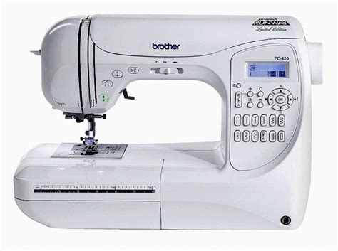 Brother PC420PRW Review   SewingMachines.reviews
