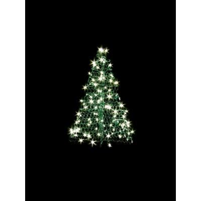 home depot winterberry outdoorlit tree crab pot trees 3 ft indoor outdoor pre lit led artificial tree with green frame and