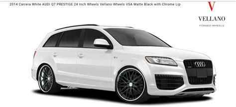 Audi Q7 Rims by Audi Q7 On 24 Quot Rims Wheels 24 Rims Audi