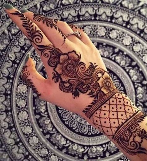 henna tatto hand easy henna mehndi designs idea on back of tattoos