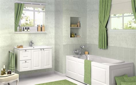 Bathroom Styles Ideas Bathroom Design Ideas With Green Curtain Stylehomes Net