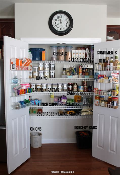Clean Pantry by 6 Simple Things You Can Do Today To Clean Organize Your