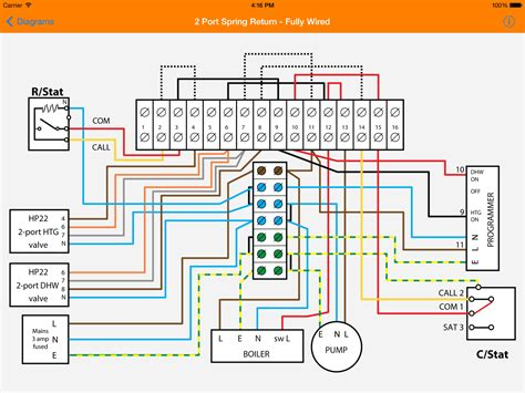 danfoss motorised valve wiring diagram wiring diagrams