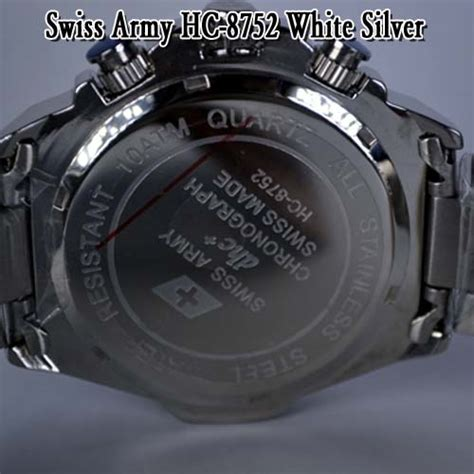 Swiss Army 1510a Silver White Diskon Murah swiss army hc 8752 white silver pelangsing toko pelangsing grosir pelangsing pelangsing