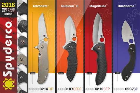 spyderco mid year product now available for pre order