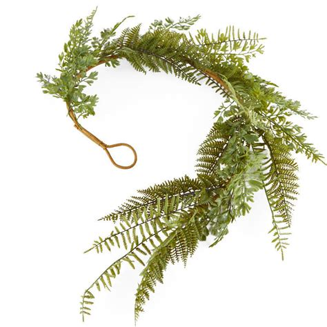 artificial garland artificial fern garland artificial greenery floral