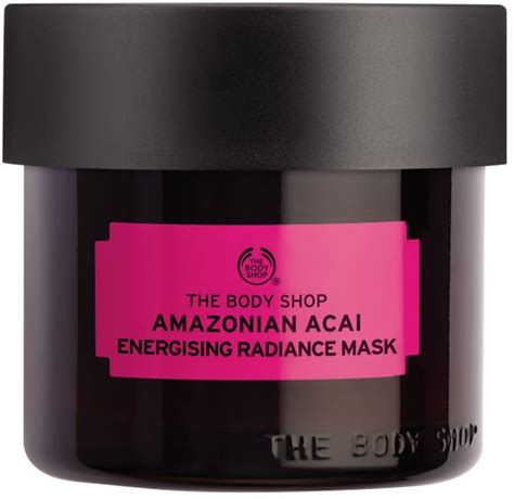 Masker The Shop the shop amazonian acai energising radiance mask reviews beautyheaven