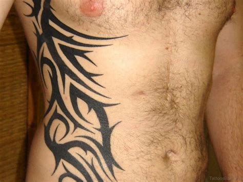 tribal side tattoos for guys 73 best rib tattoos for