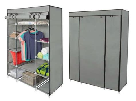 Portable Wardrobe Target by Portable Closet With Shelves Archives Mojosavings