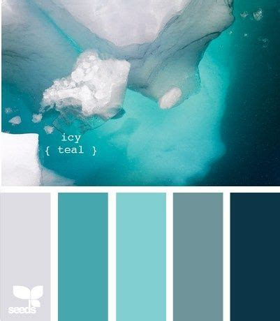 teal color schemes icy teal color scheme interior design