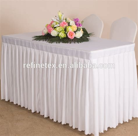 wedding table skirting to buy white table skirting table skirts wedding table skirt