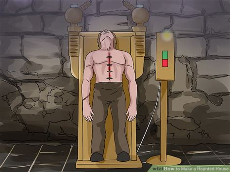 How To Make A Haunted House How To Make A Haunted House With Pictures Wikihow