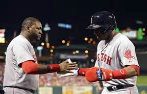 david ortiz tattoos yoenis cespedes guns josh hamilton at the plate gif
