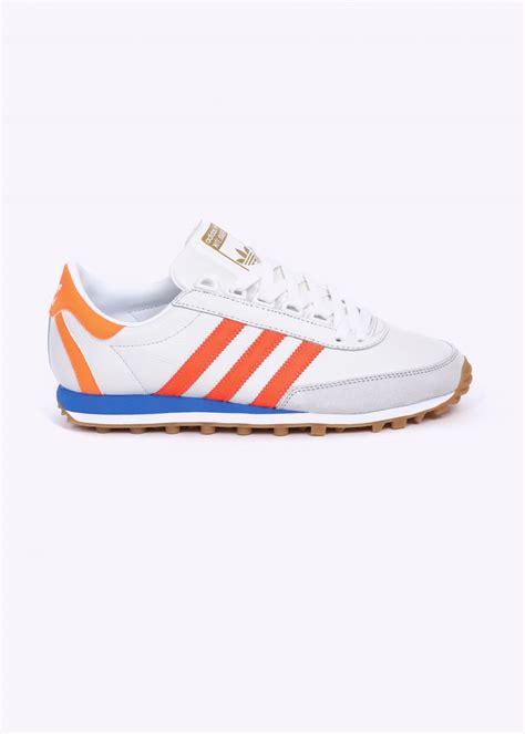 adidas originals nite jogger og trainers vintage white solar orange