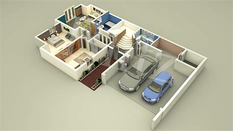 architecture 3d floor plans home design services