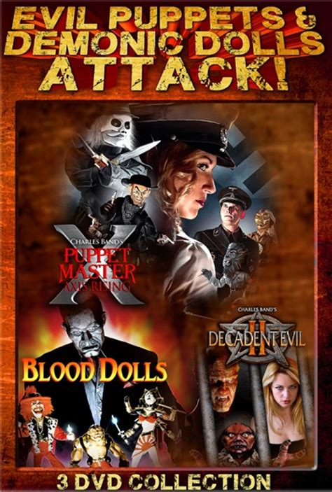 when puppets and dolls attack evil puppets and demonic dolls attack 3 dvd slimline set