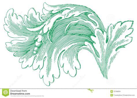 pattern in sketch sketch of flower pattern stock illustration image of