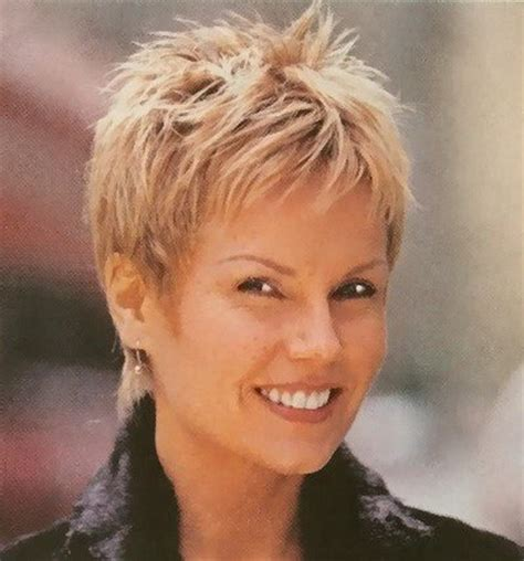 hair style for women over 60 with very thin hair very short haircuts for women over 60