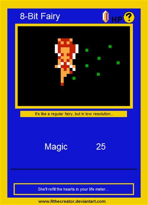 legend of zelda overland map 8 bit fairy pokemon card by rthecreator on deviantart