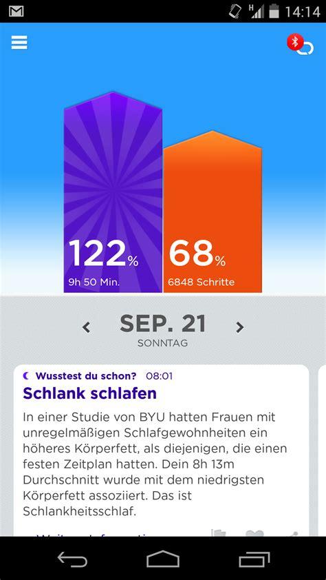 schlaf aufzeichnen app fitibit flex vs jawbone up die datenarmb 228 nder im test mfg