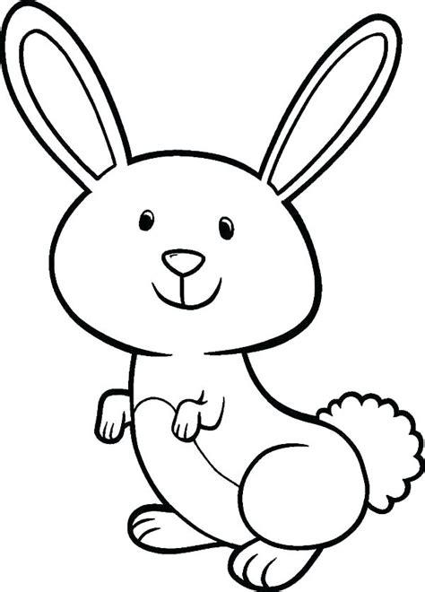 big bunny coloring pages easter bunny color rawtodoor com